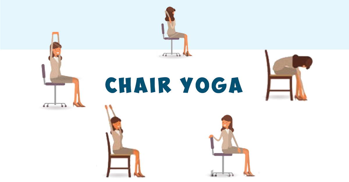 Try Out These 5 Yoga Poses Without Even Leaving Your Office Desk